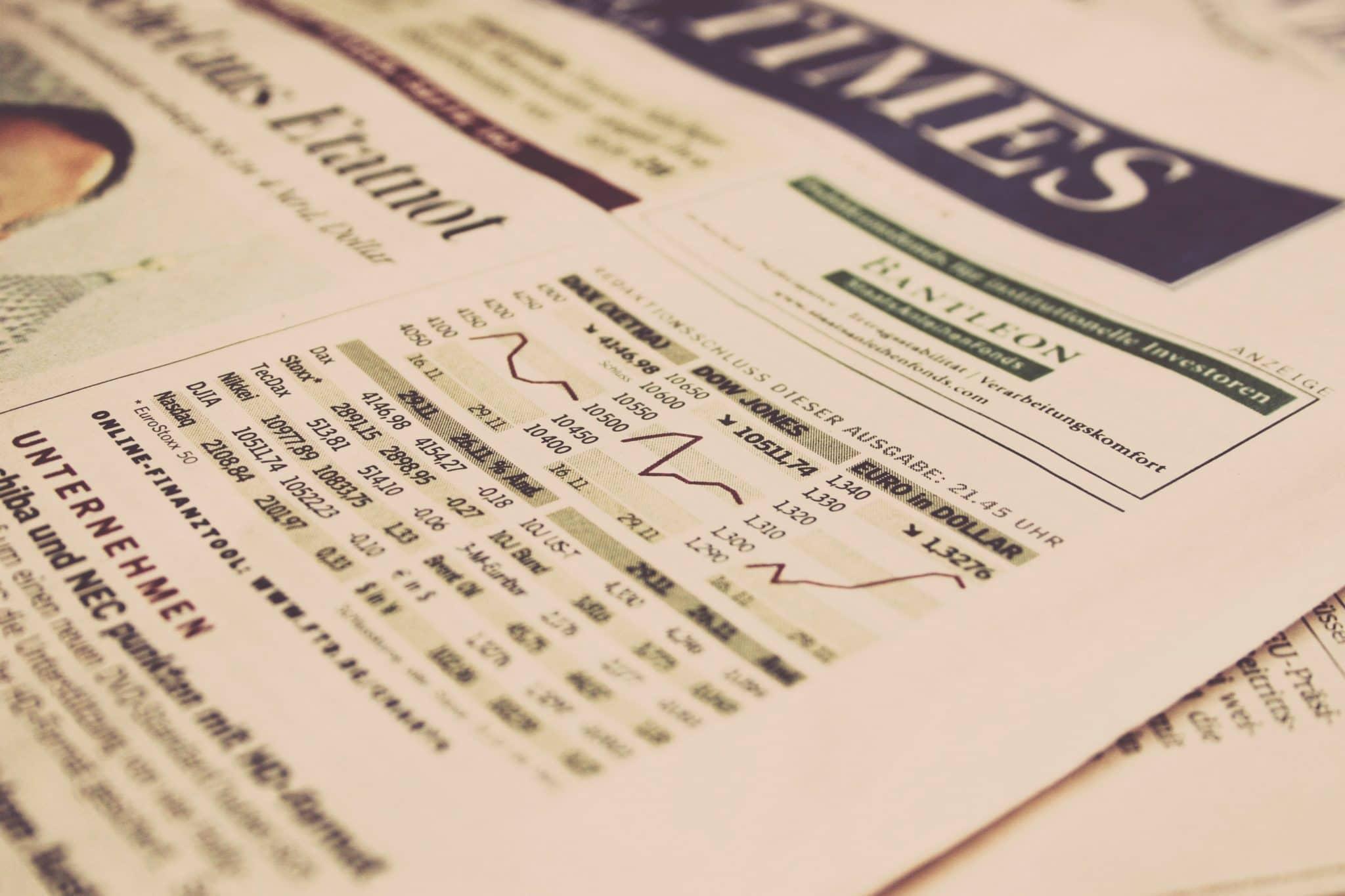 Quotidien anglais sur les analyses marchés