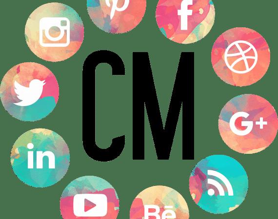 logo pour un CV d'un community Manager