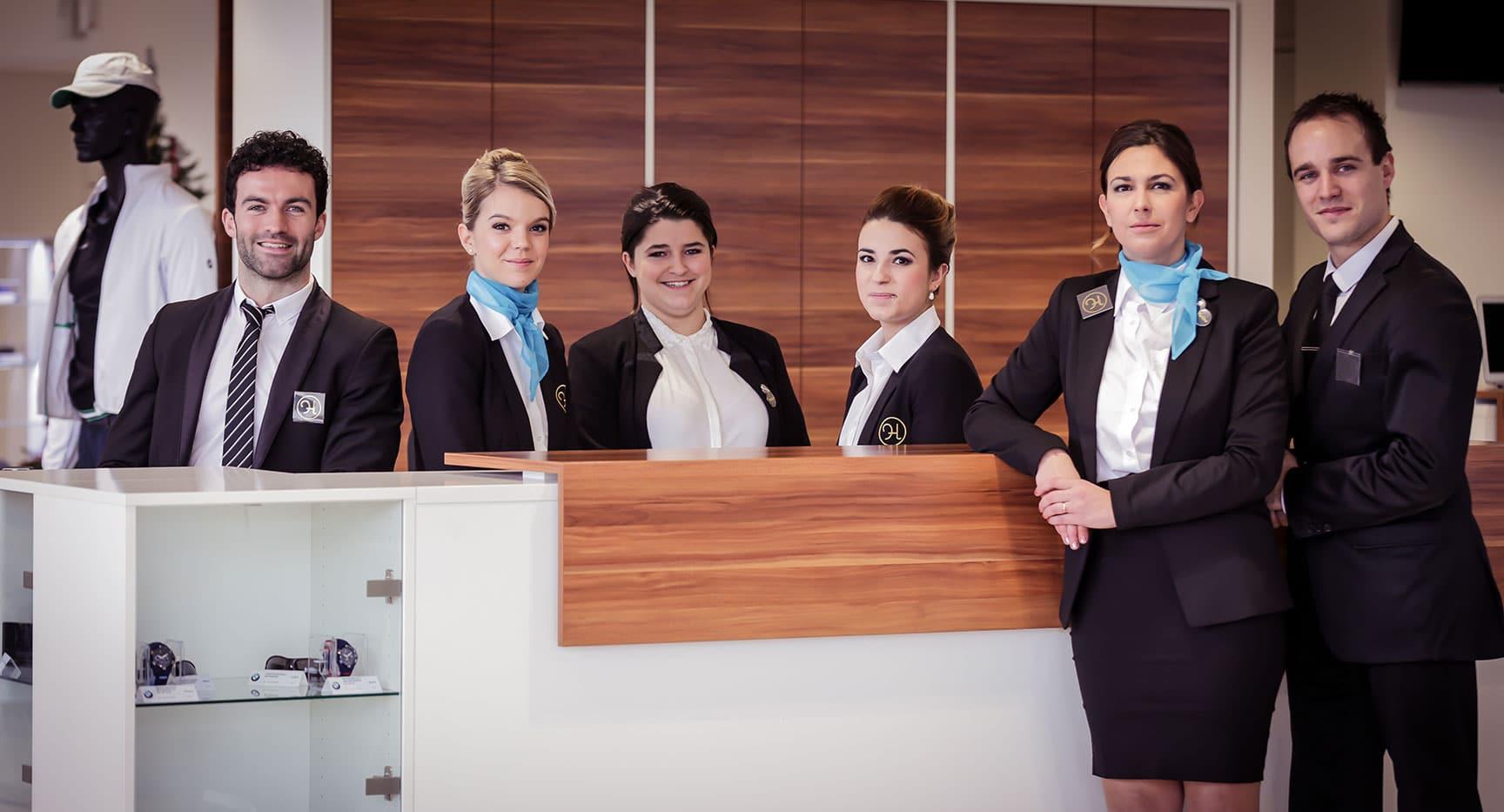 Hôtesses d'accueil