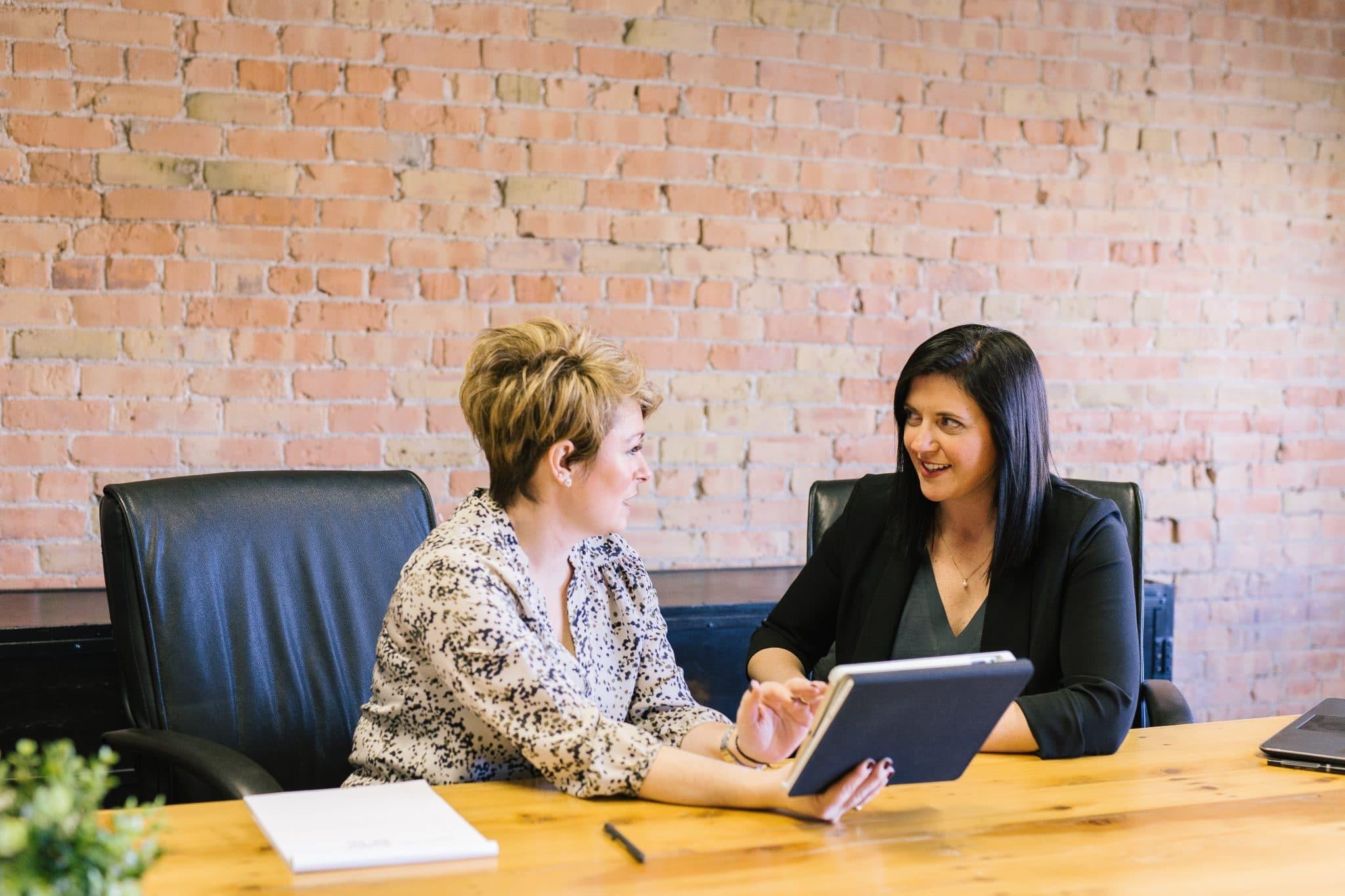 entretien d'embauche pour un poste d'accompagnement éducatif et social