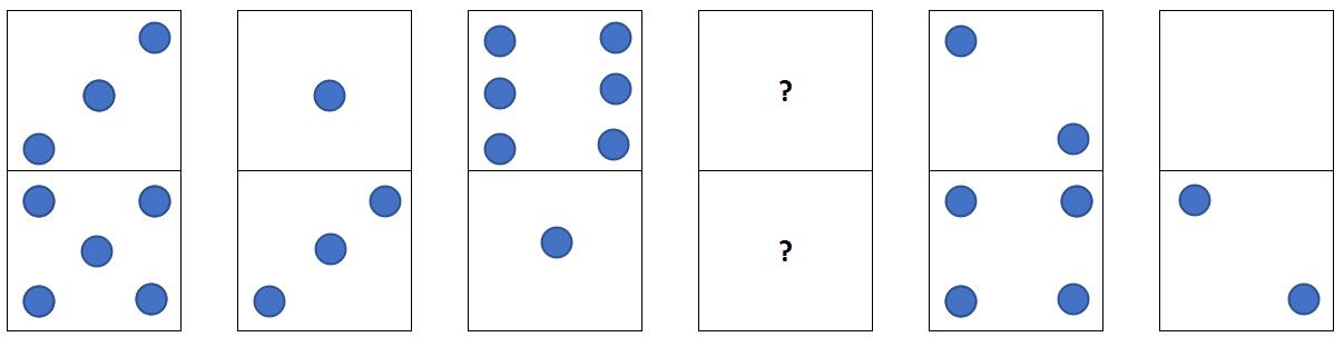 Nouveau test de dominos RATP