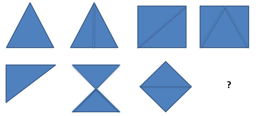 Test de logique avec des formes géométriques