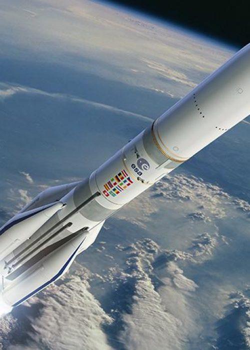 Chez Thales recrutement parler du transmetteur de la fusée Ariane