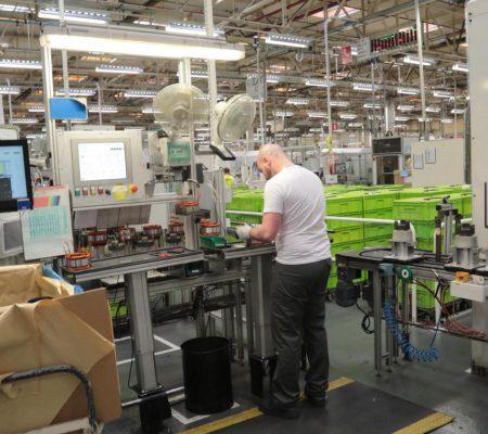 Test de recrutement sur un poste de montage et de fabrication de pièce mécanique