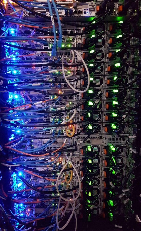 Utilisation des données de serveurs informatique