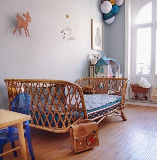 chambre d'enfant équipée par une assistante maternelle