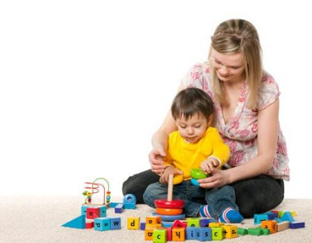 l'assistante maternelle passe un entretien d'embauche